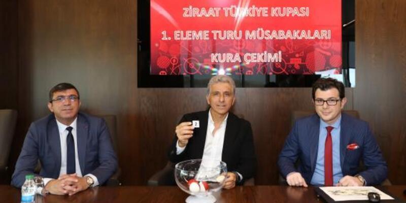 Ziraat Türkiye Kupası 1. eleme turu kurası çekildi
