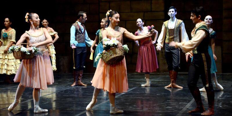 Bodrum'da Don Kişot balesi sahnelendi