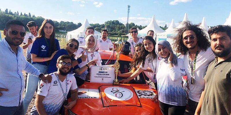 Alternatif Enerjili Araç Yarışlarında 'Hunter' ödül aldı