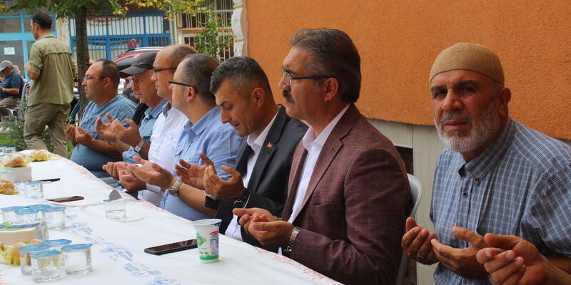 Tokat'ta, Şehit Yasin Gencer için mevlit okutuldu