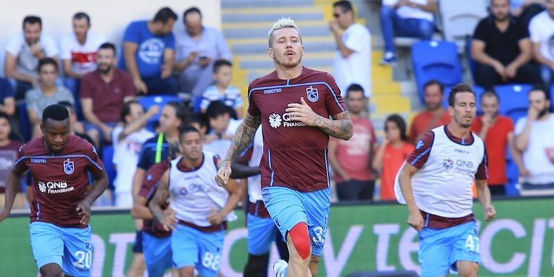 Trabzonspor 4 eksikle çalıştı