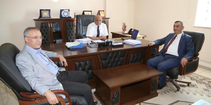 KAYSO'dan Ticaret İl Müdürü Fırat'a ziyaret