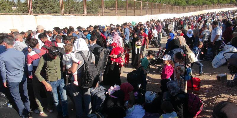 25 bin Suriyeli, bayram için ülkesine gitti