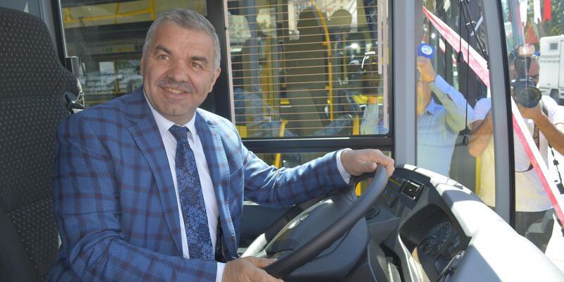 Kayseri'ye 10 otobüs daha