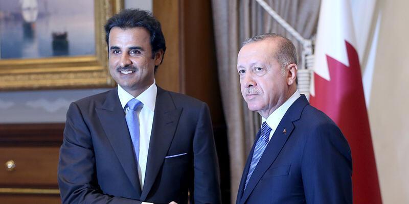 Katar Emiri Şeyh Temim, destek için Türkiye'de: 15 milyar Dolar yatırım yapacak