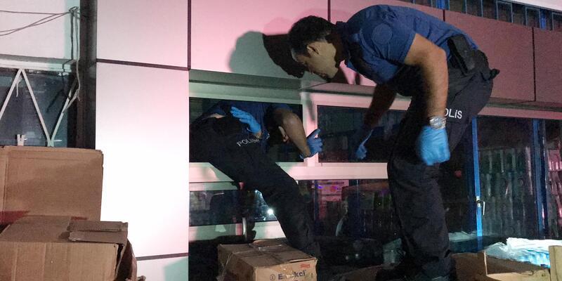 Hırsızlık için gıda toptancısına giren 3 kişi yakalandı