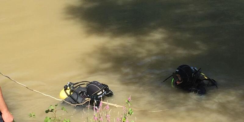 Nehirde kaybolan Batuhan'ı arama çalışmaları sürüyor
