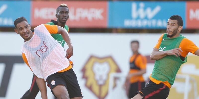 Galatasaray 3 eksikle çalıştı