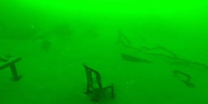 Gölcük depreminin izleri su altında