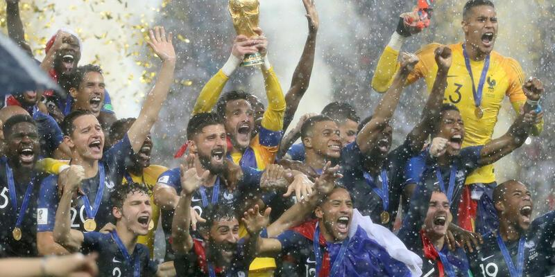 FIFA sıralamasında 1 numara Fransa'nın