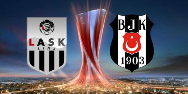 LASK Linz - Beşiktaş maçının yayınlanacağı kanal belli oldu