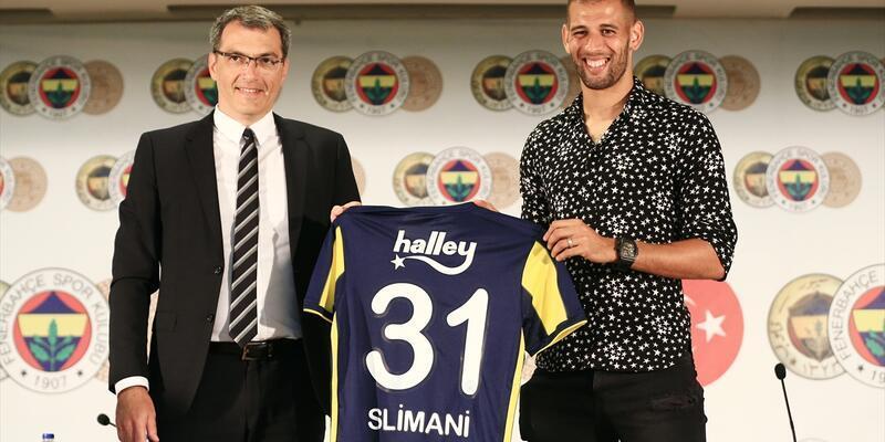 İslam Slimani resmi imzayı attı