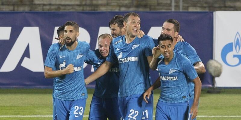 Zenit 8-1 Dinamo Minsk