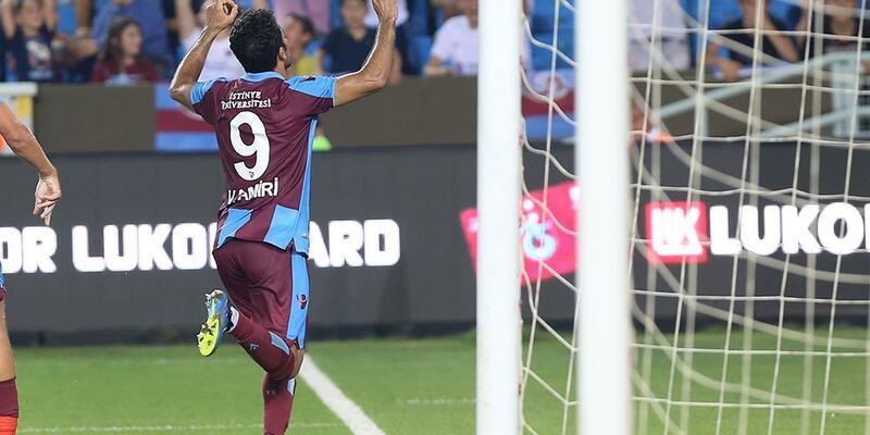 Trabzonspor'un yeni transferi Vahid Amiri baba oldu