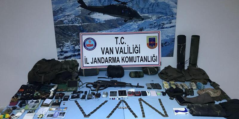 Van'da PKK sığınağı bulundu