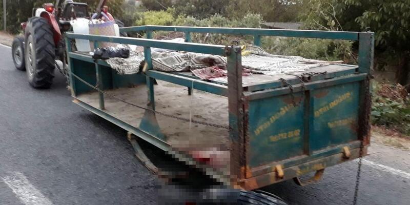 Traktörle kamyonet çarpıştı: 1 ölü, 7 yaralı