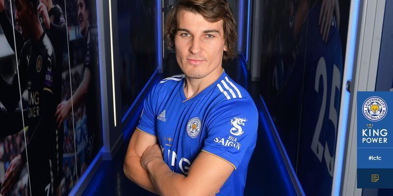 Çağlar Söyüncü Leicester City formasını giydi