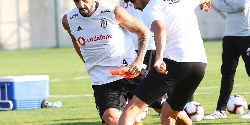 Beşiktaş'ta iki ayrı antrenman