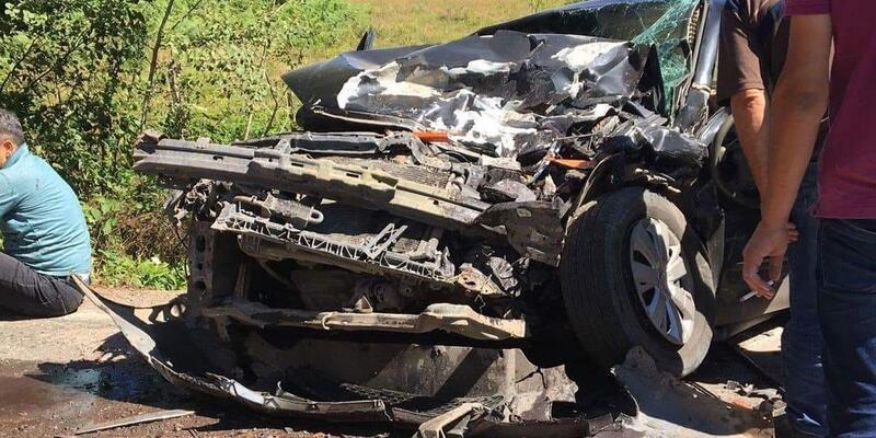 Ordu'da kazada 2 kişi hayatını kaybetti