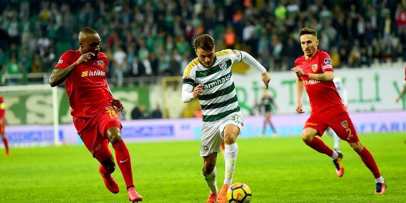 Bursaspor - Kayserispor | Muhtemel 11'ler