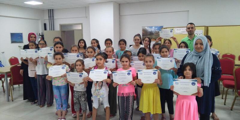 Büyükşehir Belediyesi ilçelere 36 farklı branştan kurslar açtı