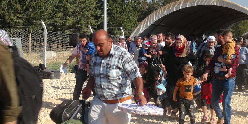 Suriyelilerin Öncüpınar Kapısı'nda son gün yoğunluğu