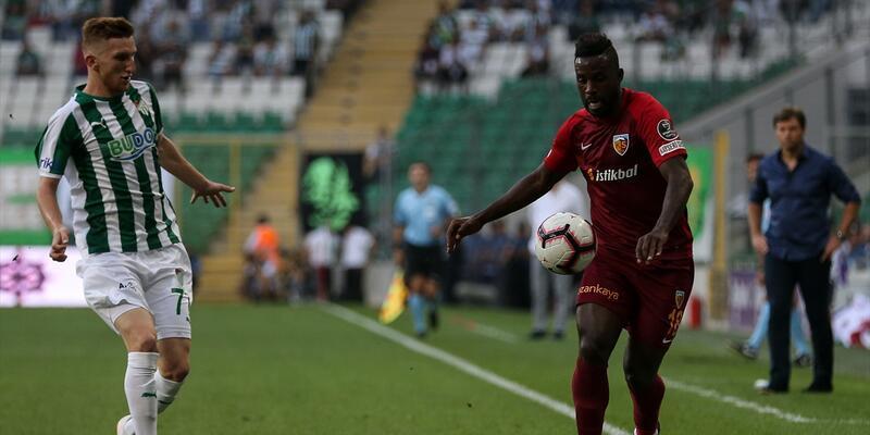 Bursaspor 0-0 Kayserispor / Maç Özeti
