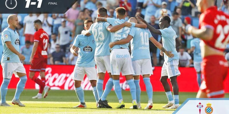Celta Vigo 1-1 Espanyol / Maç Özeti
