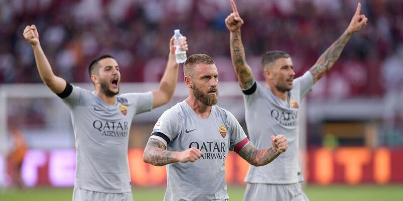 Roma Serie A'ya 3 puanla başladı