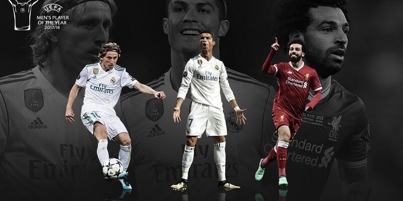 UEFA 'Yılın futbolcusu' adaylarını 3'e indirdi