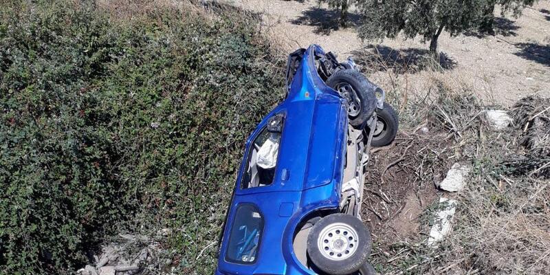Alman sürücü kazada ağır yaralandı