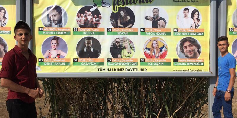 Alaşehir'den Üzüm Festivali'ne davet var