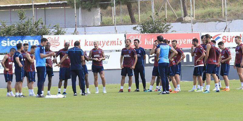 Trabzonspor, Ankaragücü maçının hazırlıklarına devam etti