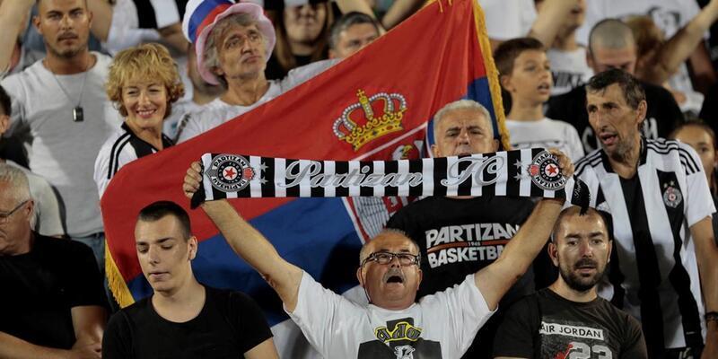 Partizan taraftarı hayatını kaybetti