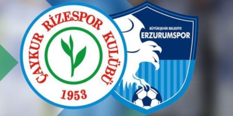 Çaykur Rizespor - B.B Erzurumspor maçının muhtemel 11'leri