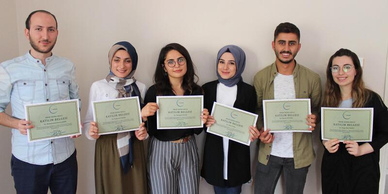 Sorgun'da Proje Yazma Okulu ilk mezunlarını verdi