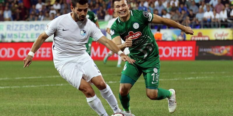 Rizespor 0-0 BB Erzurumspor / Maç Özeti