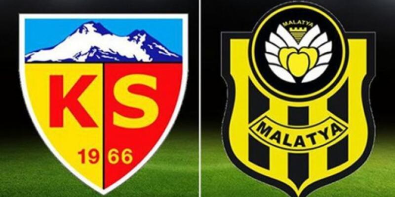 Kayserispor - Yeni Malatyaspor maçı muhtemel 11'leri