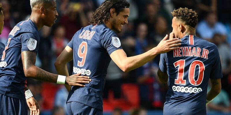 Mbappe ve Neymar attı PSG kazandı