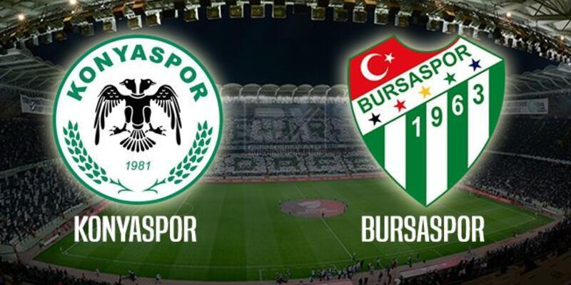 Konyaspor - Bursaspor maçı muhtemel 11'leri