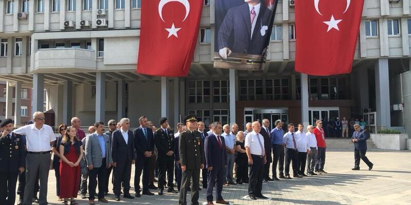Atatürk'ün Zonguldak'a gelişinin 87'nci yıl dönümü kutlandı