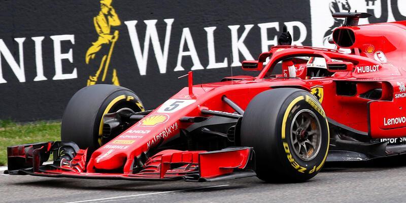 Kazayla başlayan F1 Belçika'da zafer Vettel'in