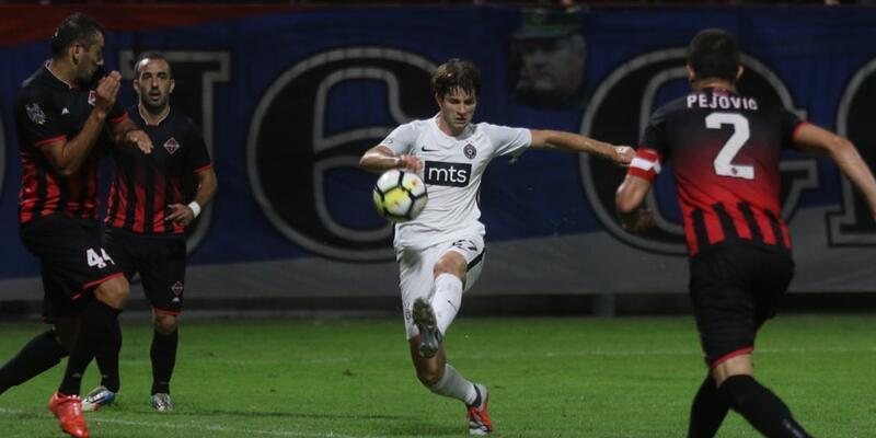 Partizan 3 golle kazandı