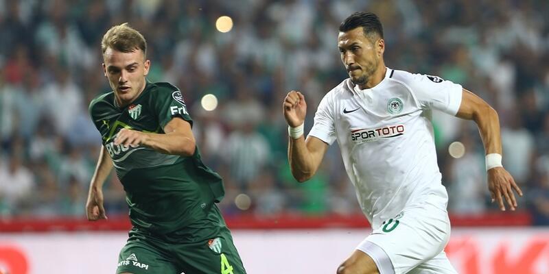 Konyaspor 1-1 Bursaspor / Maç Özeti