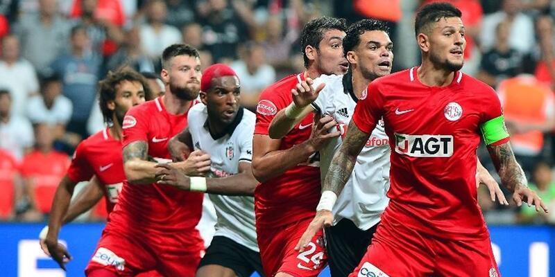 Beşiktaş 2-3 Antalyaspor   Maç özeti