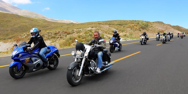 Motosiklet tutkunları Erciyes'te buluşacak