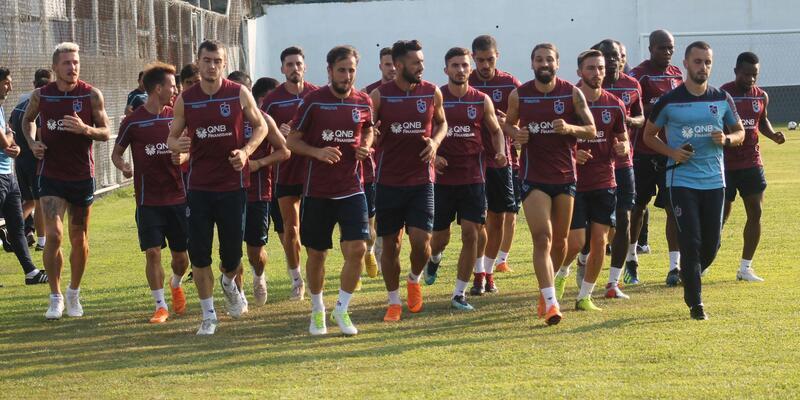 Trabzonspor'da Galatasaray maçının hazırlıkları başladı