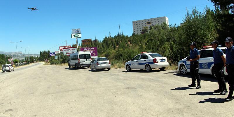 Tokat'ta bayram tatilinde 2 bin 779 sürücüye trafik cezası kesildi