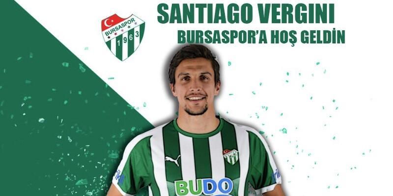 Santiago Vergini Bursaspor'da