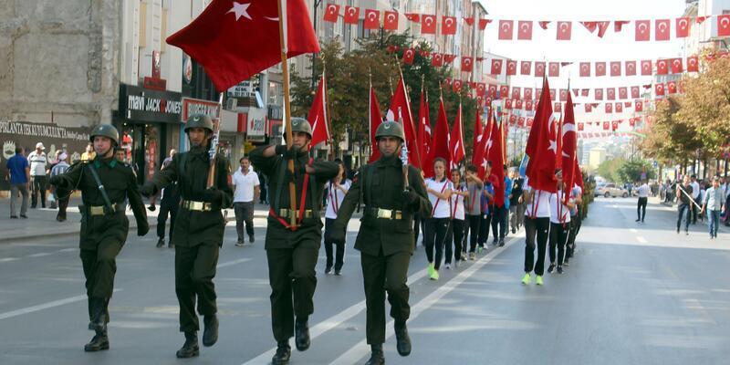 Sivas'ta '30 Ağustos' provası